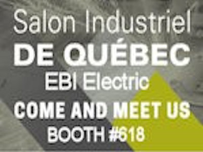 Ebi at the salon industriel de qu bec in october ebi for Salon de the quebec