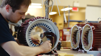 Electric motor winding at EBI Electric