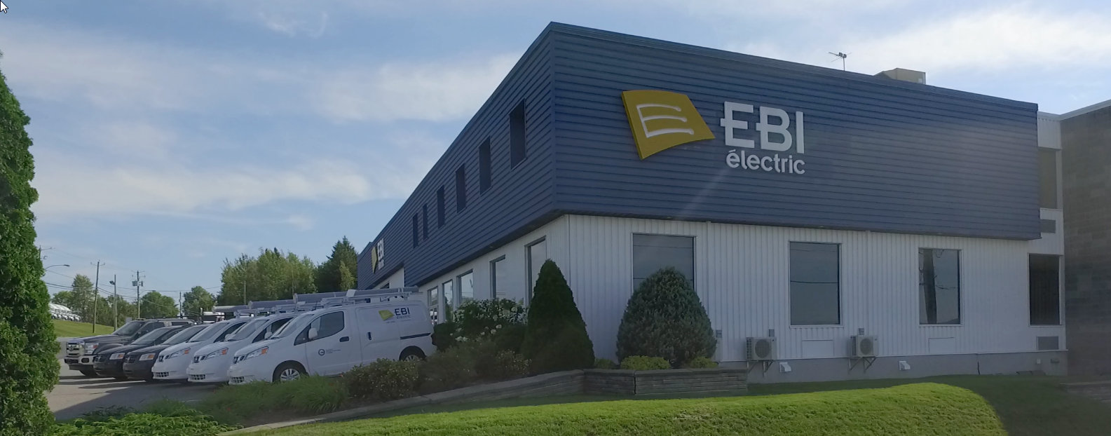 EASA electric motor repair shop Quebec EBI Electric