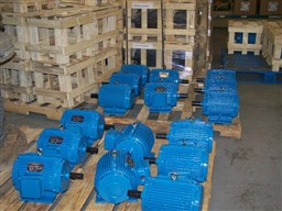Dry kiln motors of different size and HP in stock at EBI Electric