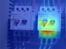 Infrared evaluation of control panel by EBI Electric