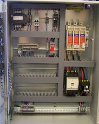 Blower control cabinet by EBI Electric