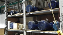 Repaired electric motors at EBI Electric