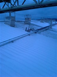 Roof cabling of dry kiln by EBI Electric